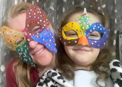 maschere di carnevale: fate dalmatine