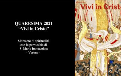 Meditazione quaresimale 2021