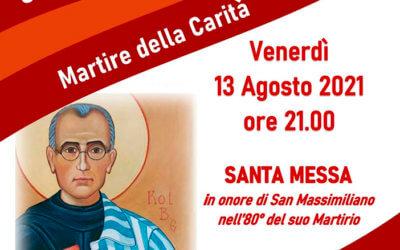 Festa di san Massimiliano Kolbe